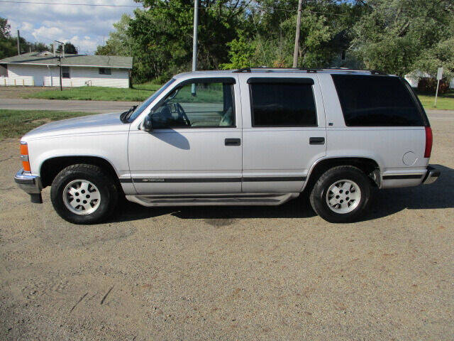 1995 Chevrolet Tahoe for sale at Taylors Auto Sales in Canton OH