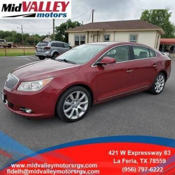 2010 Buick LaCrosse for sale at Mid Valley Motors in La Feria TX