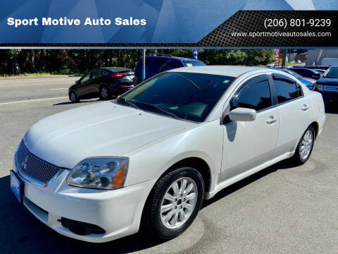2012 Mitsubishi Galant for sale at Sport Motive Auto Sales in Seattle WA