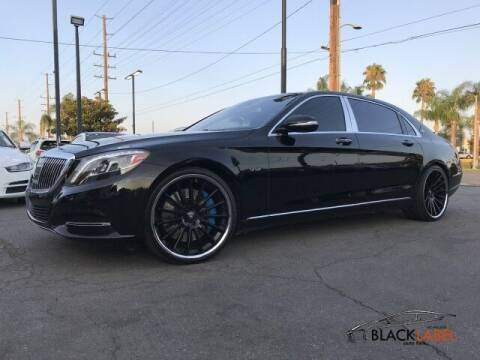 2016 Mercedes-Benz S-Class for sale at BLACK LABEL AUTO FIRM in Riverside CA