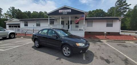 2006 Subaru Outback for sale at CVC AUTO SALES in Durham NC