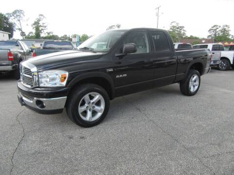 2008 Dodge Ram Pickup 1500 for sale at ARENA AUTO SALES,  INC. in Holly Hill FL