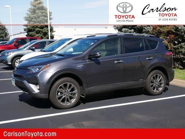 2018 Toyota RAV4 Hybrid for sale in Coon Rapids, MN