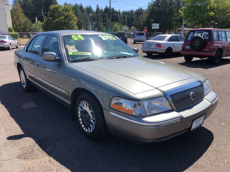 2004 Mercury Grand Marquis for sale at Freeborn Motors in Lafayette, OR