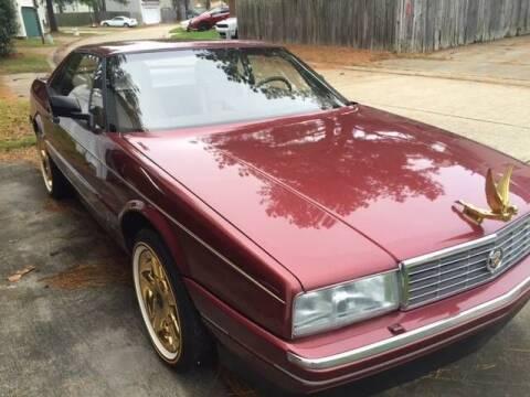 1987 Cadillac Allante for sale at Classic Car Deals in Cadillac MI