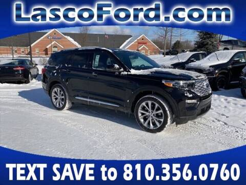 2021 Ford Explorer for sale at Lasco of Grand Blanc in Grand Blanc MI