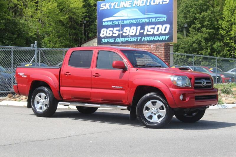 2010 Toyota Tacoma for sale at Skyline Motors in Louisville TN