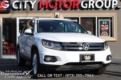 2016 Volkswagen Tiguan for sale at City Motor Group, Inc. in Wanaque NJ