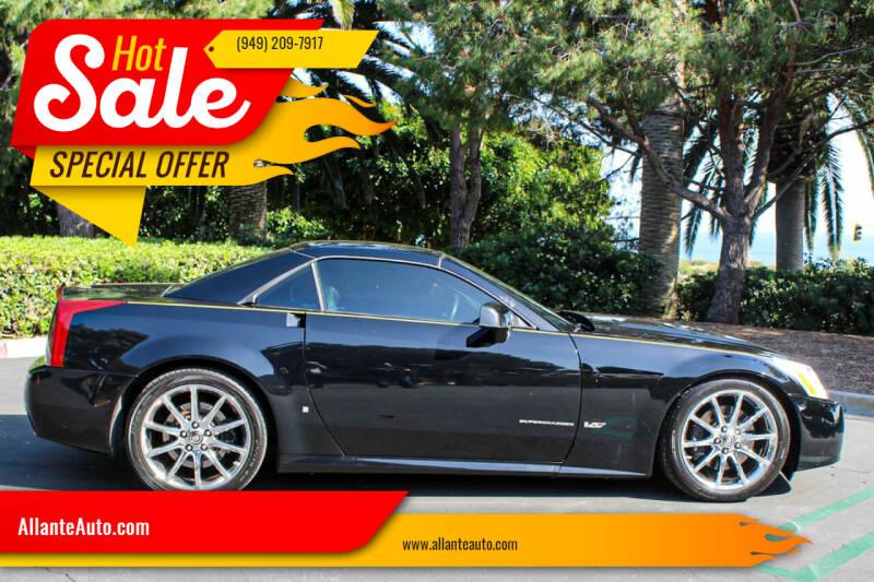 2007 Cadillac XLR-V for sale at AllanteAuto.com in Santa Ana CA