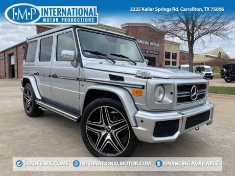 2003 Mercedes-Benz G-Class for sale at International Motor Productions in Carrollton TX