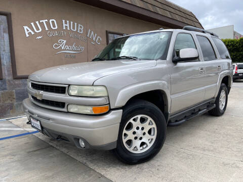 2004 Chevrolet Tahoe for sale at Auto Hub, Inc. in Anaheim CA