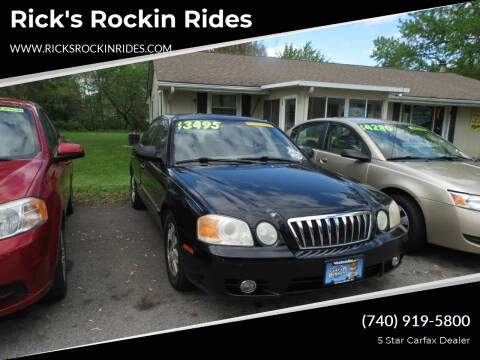 2003 Kia Optima for sale at Rick's Rockin Rides in Reynoldsburg OH