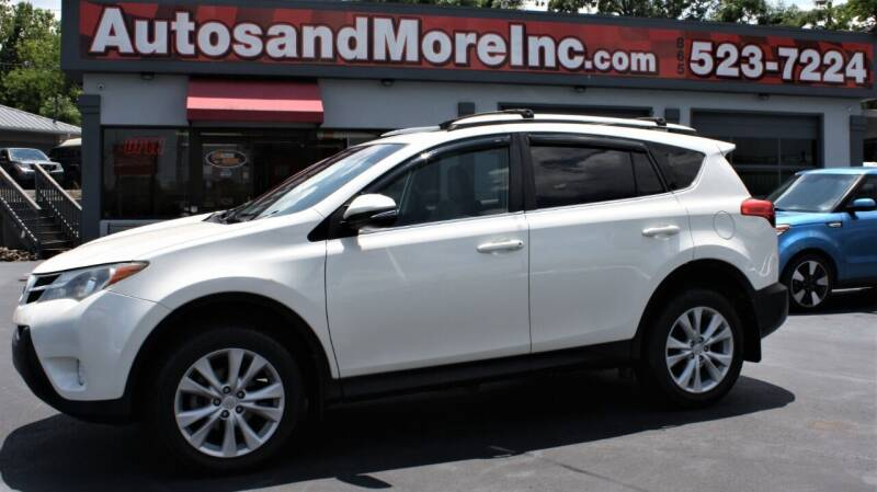 2013 Toyota RAV4 for sale at Autos and More Inc in Knoxville TN