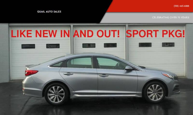 2015 Hyundai Sonata for sale at Quail Auto Sales in Albany NY