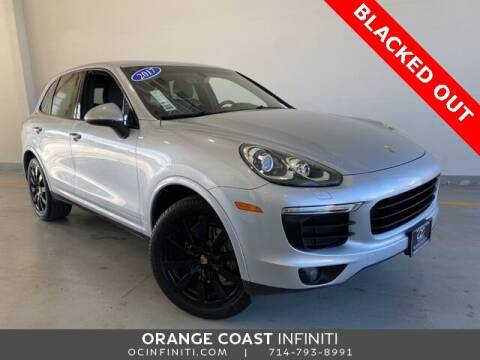 2017 Porsche Cayenne for sale at ORANGE COAST CARS in Westminster CA