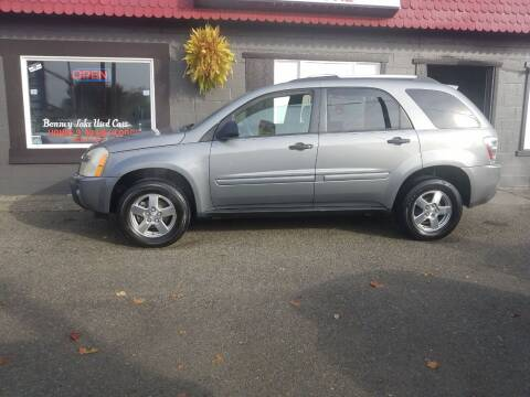 2005 Chevrolet Equinox for sale at Bonney Lake Used Cars in Puyallup WA