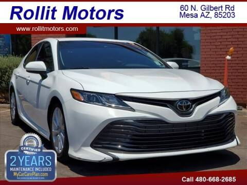 2018 Toyota Camry for sale at Rollit Motors in Mesa AZ
