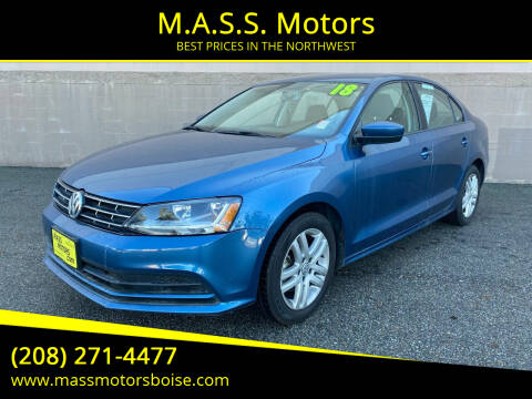 2018 Volkswagen Jetta for sale at M.A.S.S. Motors in Boise ID