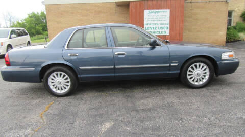 2011 Mercury Grand Marquis for sale at LENTZ USED VEHICLES INC in Waldo WI