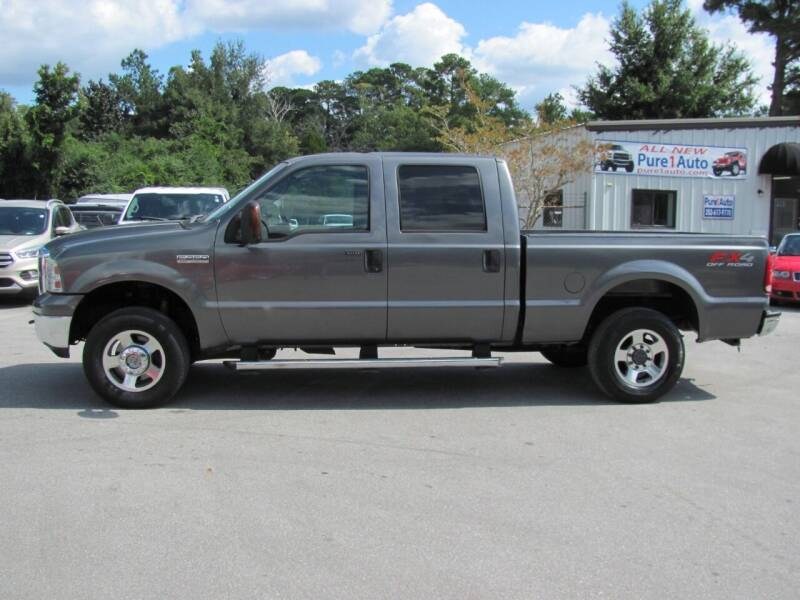 2007 Ford F-250 Super Duty for sale at Pure 1 Auto in New Bern NC