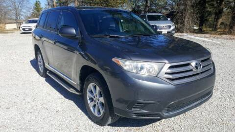 2013 Toyota Highlander for sale at Victory Auto Sales LLC in Mooreville MS
