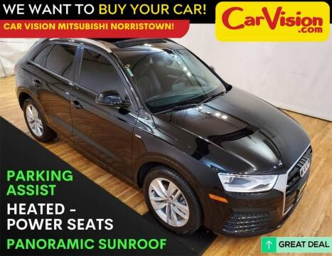 2018 Audi Q3 for sale at Car Vision Mitsubishi Norristown in Trooper PA