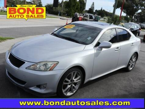 2008 Lexus IS 250 for sale at Bond Auto Sales in St Petersburg FL