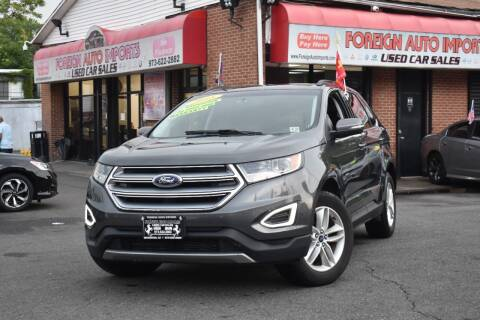 2018 Ford Edge for sale at Foreign Auto Imports in Irvington NJ