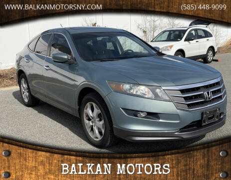 2010 Honda Accord Crosstour for sale at BALKAN MOTORS in East Rochester NY
