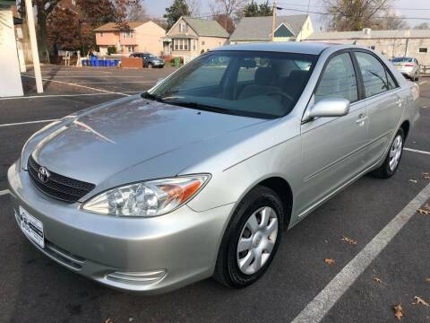 2002 Toyota Camry for sale at EZ Auto Sales , Inc in Edison NJ