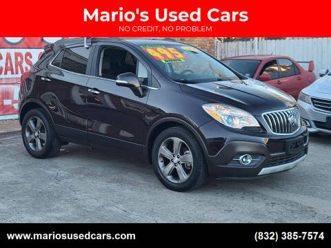 2014 Buick Encore for sale at Mario's Used Cars - South Houston Location in South Houston TX