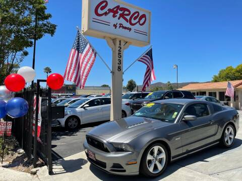 2013 Ford Mustang for sale at CARCO SALES & FINANCE - CARCO OF POWAY in Poway CA
