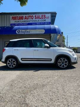 2014 FIAT 500L for sale at PORTLAND AUTO SALES LLC. in Portland OR