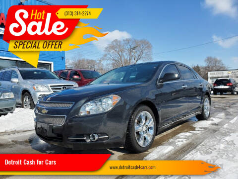 2012 Chevrolet Malibu for sale at Detroit Cash for Cars in Warren MI