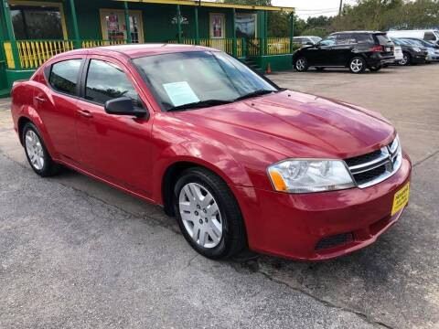 2013 Dodge Avenger for sale at Pasadena Auto Planet in Houston TX