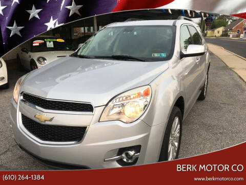 2010 Chevrolet Equinox for sale at Berk Motor Co in Whitehall PA