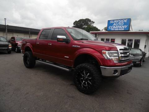 2014 Ford F-150 for sale at Surfside Auto Company in Norfolk VA