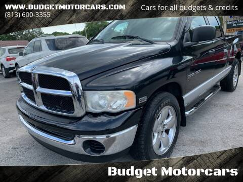2004 Dodge Ram Pickup 1500 for sale at Budget Motorcars in Tampa FL