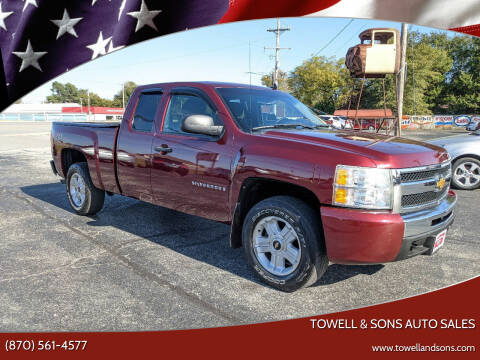 2009 Chevrolet Silverado 1500 for sale at Towell & Sons Auto Sales in Manila AR