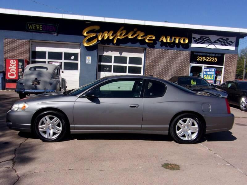 2006 Chevrolet Monte Carlo for sale at Empire Auto Sales in Sioux Falls SD