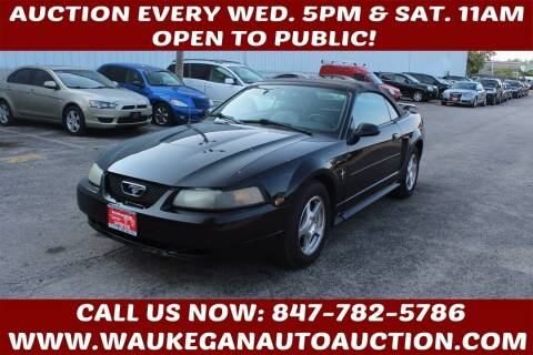 2003 Ford Mustang for sale at Waukegan Auto Auction in Waukegan IL