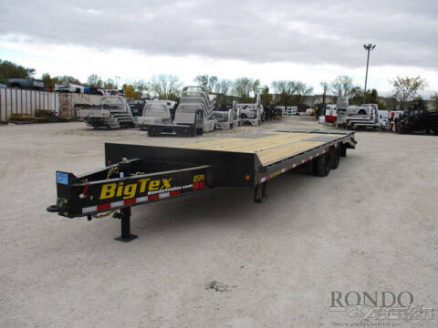 2021 Big Tex Equipment Deckover 25PH-25BK+5 for sale at Rondo Truck & Trailer in Sycamore IL