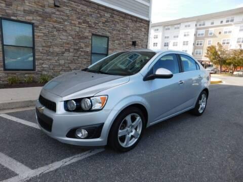 2015 Chevrolet Sonic for sale at AMERICAR INC in Laurel MD