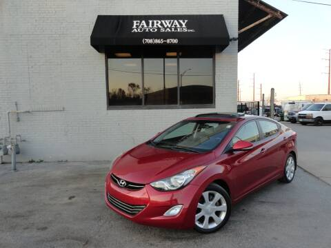 2012 Hyundai Elantra for sale at FAIRWAY AUTO SALES, INC. in Melrose Park IL