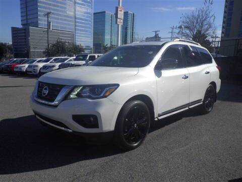 2017 Nissan Pathfinder for sale at BEAMAN TOYOTA GMC BUICK in Nashville TN