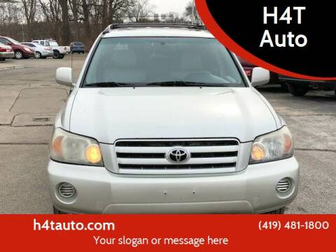 2005 Toyota Highlander for sale at H4T Auto in Toledo OH