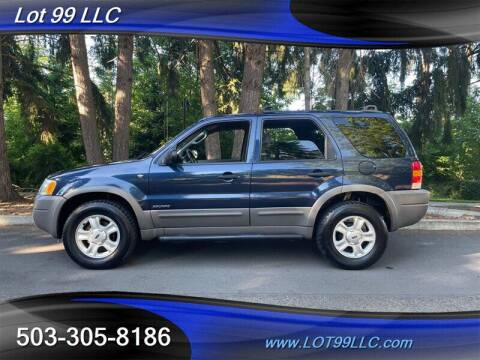 2002 Ford Escape for sale at LOT 99 LLC in Milwaukie OR