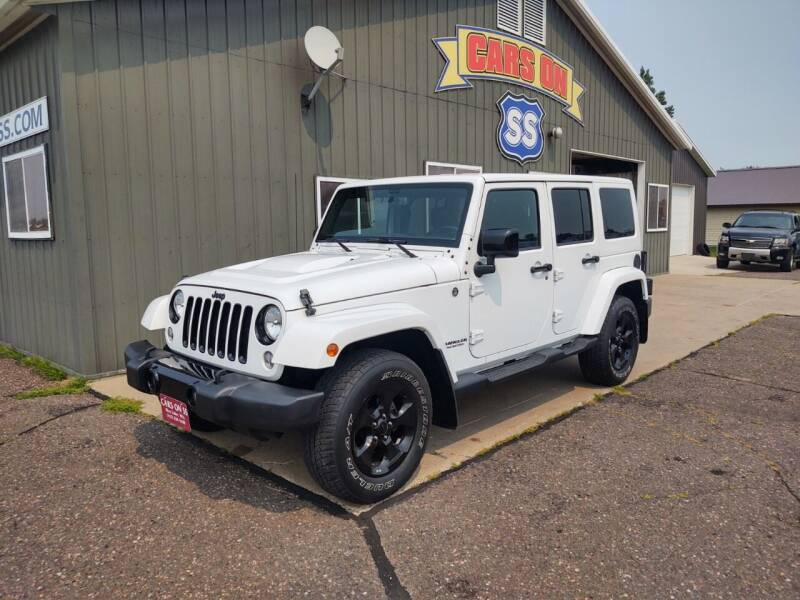 2015 Jeep Wrangler Unlimited for sale at CARS ON SS in Rice Lake WI