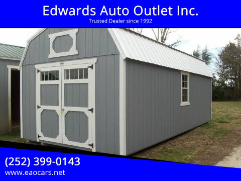 2020 xx Old Hickory Buildings 12x24 Lofted Barn for sale at Edwards Auto Outlet Inc. in Wilson NC