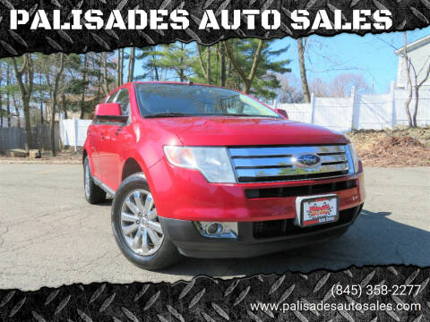 2007 Ford Edge for sale at PALISADES AUTO SALES in Nyack NY